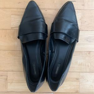 Faux leather loafers, black | Forever 21